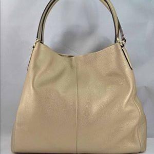 Coach Madison Leather Phoebe Shoulder Bag